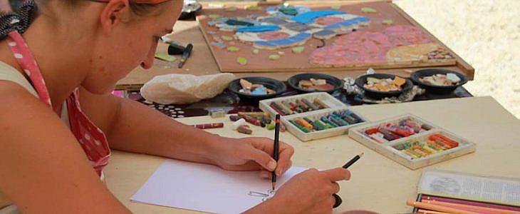 Foto's Cursus Tekenen en Schilderen