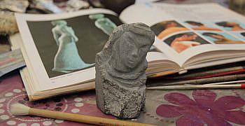 Foto's beeldhouwen