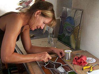 Kunst met Glas in Lood
