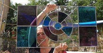 Foto's Glas in Lood cursus