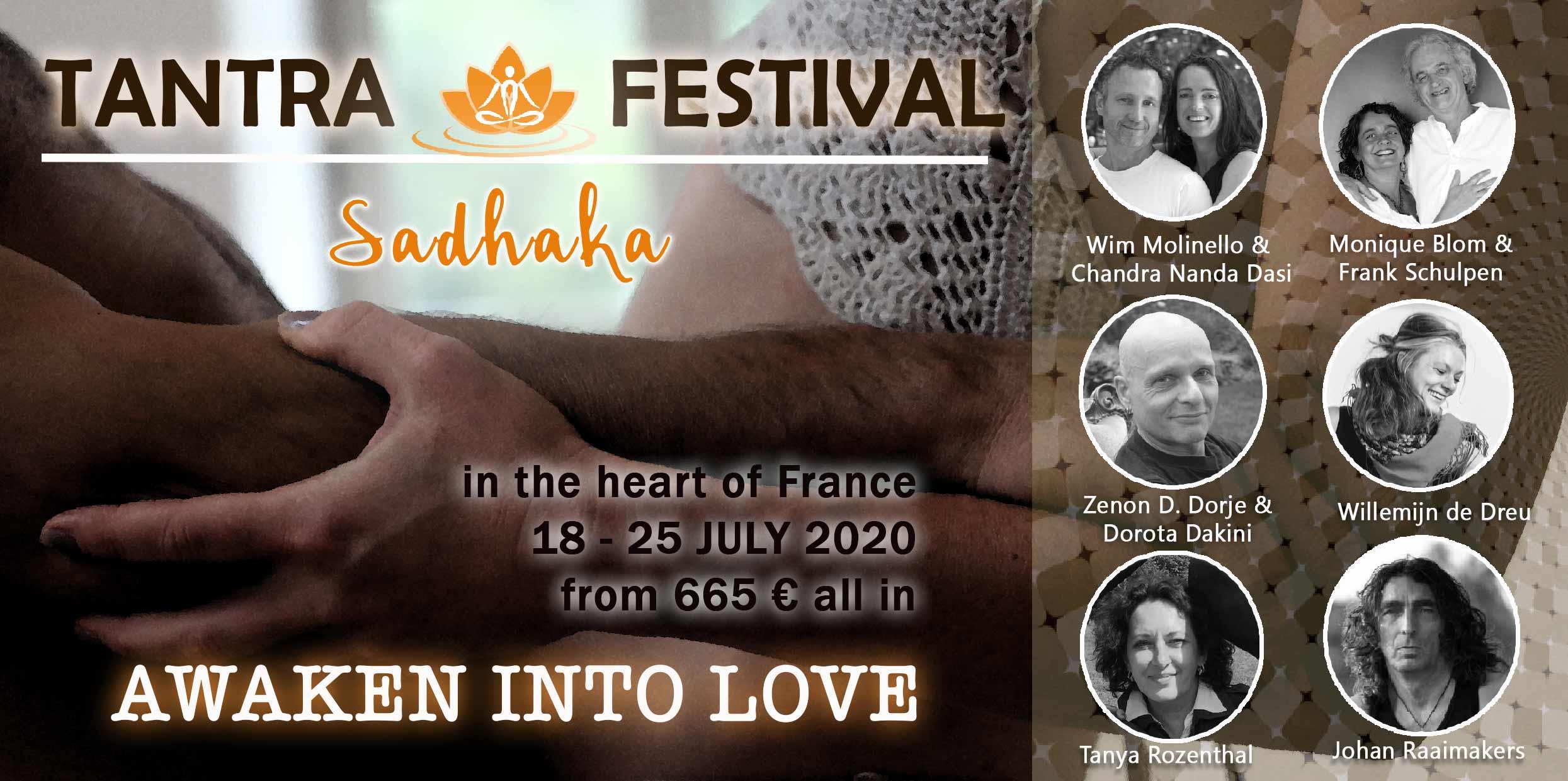 Sadhaka Tantra festival juli 2020 Frankrijk