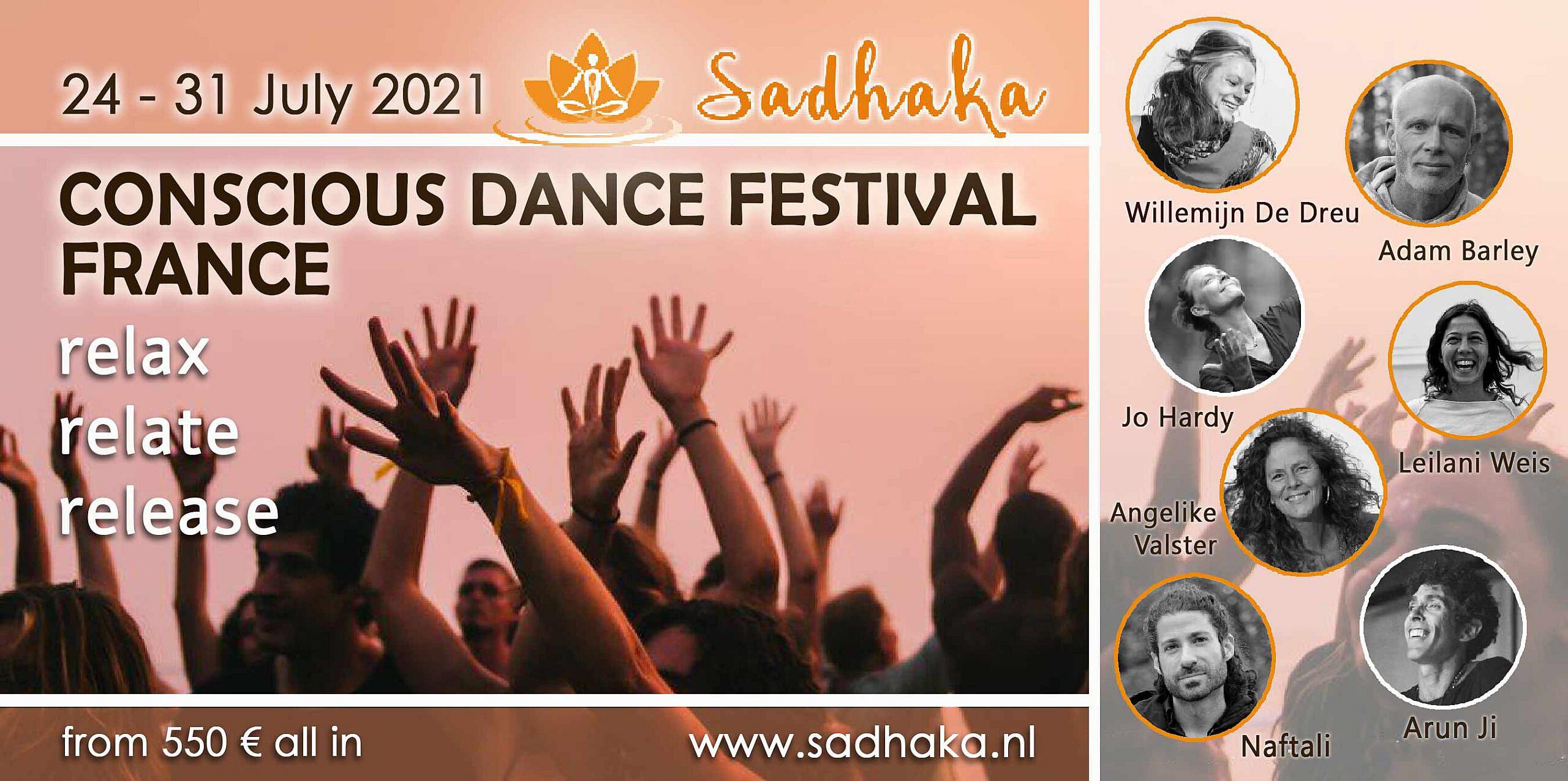 Flyer dancefestival 2021